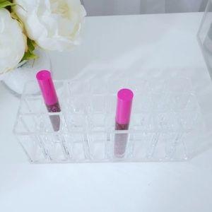 Acrylic lipstick/lipgloss holder